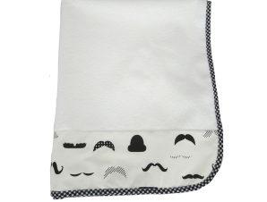 Βρεφικό Σελτεδάκι (60×80) Ninna Nanna Bebe Moustache