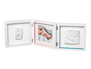 Κορνίζα Αποτύπωμα 3 Θέσεων Baby Art My Baby Style Double Essentials BR73758