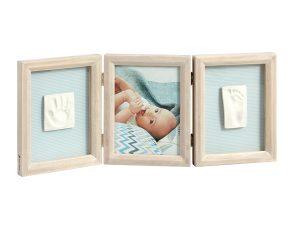 Κορνίζα Αποτύπωμα 3 Θέσεων Baby Art My Baby Touch Stormy BR71073