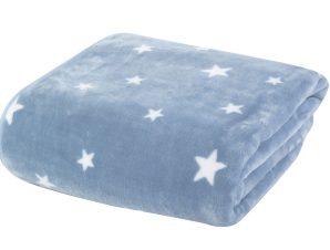Κουβέρτα Βελουτέ Αγκαλιάς 2 Όψεων Nef-Nef Stellar