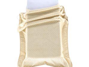 Κουβέρτα Βελουτέ Αγκαλιάς Morven Bubbles J61/12 Μπεζ