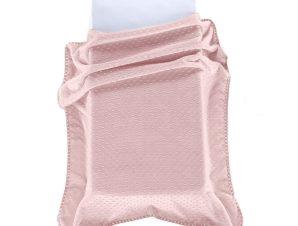 Κουβέρτα Βελουτέ Αγκαλιάς Morven Bubbles J61/14 Ροζ