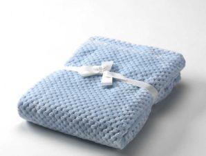 Κουβέρτα Βελουτέ Κούνιας 2 Όψεων Morven Cocole G85