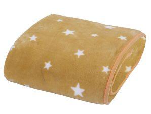 Κουβέρτα Βελουτέ Κούνιας 2 Όψεων Nef-Nef Stellar