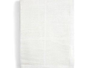 Κουβέρτα Πικέ Κούνιας Mamas & Papas White 9180153