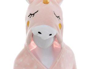 Κουβέρτα Fleece Με Κουκούλα A-S Unicorn 158722