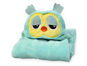Κουβέρτα Fleece Με Κουκούλα Morven Κουκουβάγια 2145