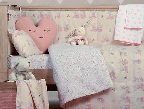Κουβερλί Κούνιας Nef-Nef Bunny Ladies