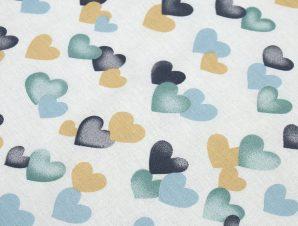 Πάνα Χασέ Dimcol Hearts Grey-Green 11