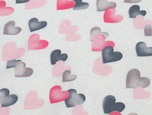 Πάνα Χασέ Dimcol Hearts Grey-Pink 12