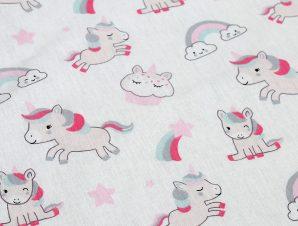 Πάνα Χασέ Dimcol Unicorn White-Pink 108