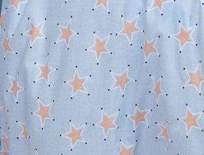 Πάνα Χασέ Melinen Baby Line Mini Stars Sky