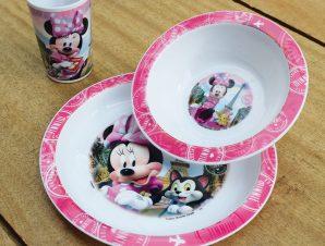Παιδικό Σετ Φαγητού 3τμχ Ango Minnie