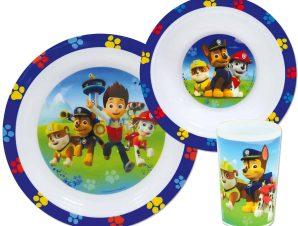 Παιδικό Σετ Φαγητού 3τμχ Ango Paw Patrol