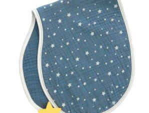 Πανάκι Ώμου Μουσελίνα Baby Oliver Muslin Blue 374