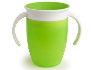 Ποτήρι Εκπαιδευτικό 207ml Munchkin Miracle 360 Green