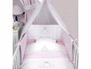 Σετ Κούνιας 3τμχ Baby Oliver Little Princess 322