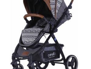 Πολυκαρότσι Carello Maxima Premium Edition Winter Grey με αντιστρέψιμη θέση, ποδόσακο, τσάντα και ποτηροθήκη