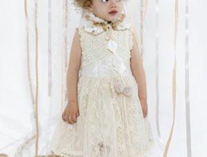 "Baby u Rock Βαπτιστικό Φόρεμα ""Zelda"" 22002G05BAC"