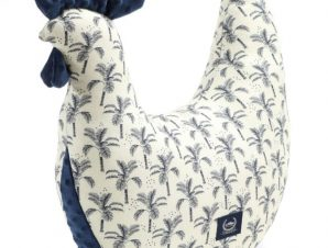 Bamboo Kura Cream Jungle – Navy
