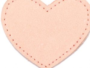 Moonie's Charm Heart Candy Pink