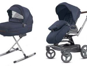 System Quad Duo Oxford Blue Inglesina