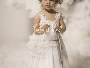 Baby u Rock Φόρεμα Βάπτισης 500801