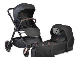 Παιδικό καρότσι Macan 2 in1 Black Cangaroo