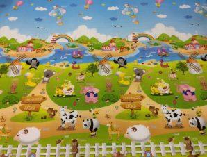 EPE Playmat παιδικο χαλι φαρμα – βυθος 180cmX230cm 1cm