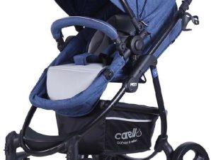 Βρεφικό Καρότσι M22 Blue Jeans Carello