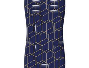 Στρωματάκι καροτσιού 3D Fiber Honey Comb μπλε Greco Strom
