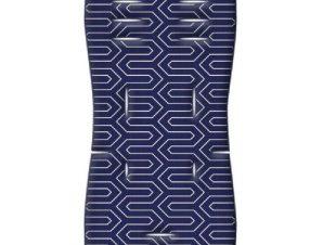 Στρωματάκι καροτσιού Memory Foam Maze μπλε Greco Strom