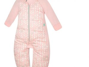 ergoPouch Υπνόσακος βρεφικός από 100% Bιολογικό βαμβάκι Sleep Suit 2 σε 1 Mint Clouds 8-24 μηνών 2.5 TOG